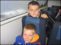 Kieran and Connor