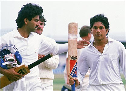 Tendulkar's first Test ton