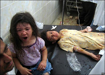 Kirkuk girls wounded