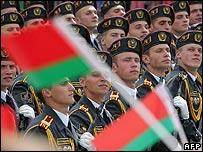 Belarus military parade (file pic)