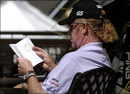 Spain's Miguel Angel Jimenez