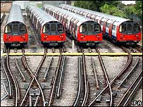 Tube trains