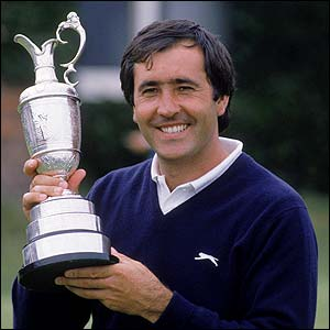 Seve celebrates winning the 1988 Open at Lytham