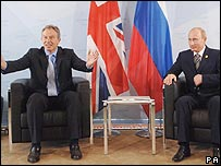 Blair Putin 