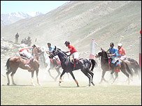 Polo at the Shandur festival