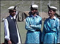 Members of the Gilgit team