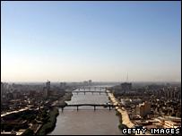 River Tigris in Baghdad