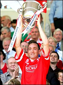 Tyrone captain Brian Dooher