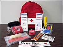 An emergency Go Bag
