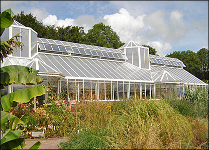The new tropical glasshouse
