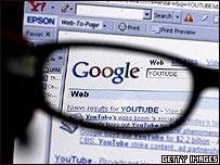 Pantalla de búsqueda de Google