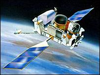 Nasa satellite (Artists impression) Compton Gamma Ray Observatory