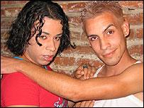 Gerald Perez y Yaikiel Cintras.  Foto: Raquel Perez