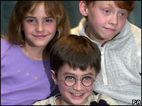 Harry Potter cast in 2000