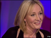 J.K. Rowling appears on the BBC