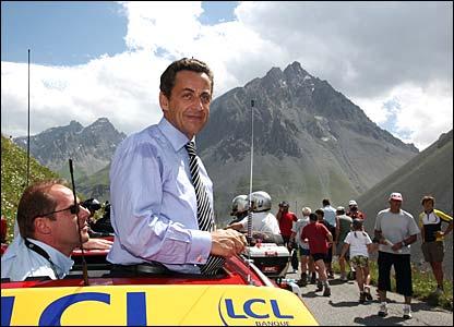 France President Nicolas Sarkozy