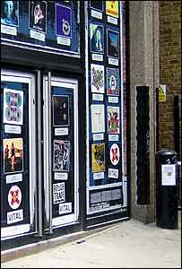Exterior of Rough Trade East, Dray Walk, London, 17 July 2007