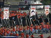 Cuban demonstration