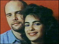 Gerardo Hernandez and his wife Adriana