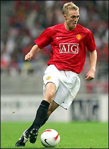 Man Utd's Darren Fletcher