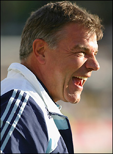 Newcastle manager Sam Allardyce