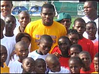 Joseph Yobo in Nigeria