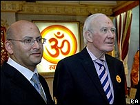 Nigel Bakhai and Sir Menzies Campbell