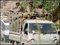 Pakistani troops in North Waziristan, 14 July