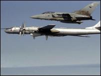 Британский 'Торнадо' и российский Су-95