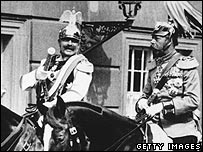 Kaiser Wilhelm and King George