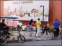 Plaza en Camagüey. Foto: Raquel Perez