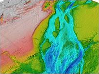 Imagen del suelo del Canal de la Mancha (S.Gupta)