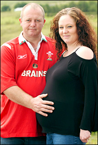Julian Emms and Joanna Stanley