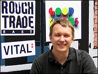 Stephen Godfroy, director of Rough Trade Retail