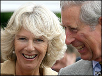 Prince Charles and the Duchess of Cornwall in Wiltshire