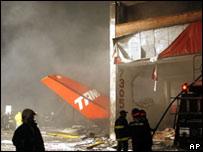 Tragedia aérea en Brasil