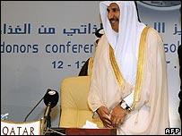 Qatari prime minister Hamad bin Jasim bin Jabir al-Thani