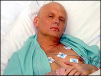 Alexander Litvinenko shortly before his death
