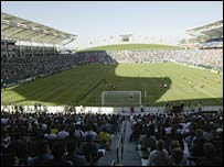 LA Galaxy's Home Depot stadium
