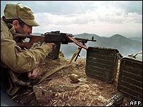 Nagorno-Karabakh war. File photo