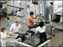 Airport security measures