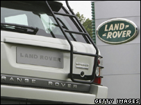 The Land Rover plant in Solihull