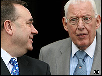 Alex Salmond and Ian Paisley