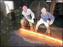 Trabajadores del acero