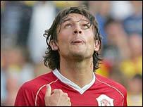 Man Utd defender Gabriel Heinze