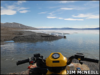 River on Ellesmere Island   Image: Jim McNeill