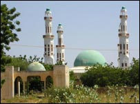 Sokoto mosque of Sultan Abubakar III