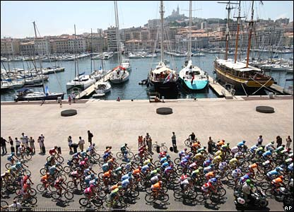 Riders in Marseille