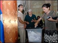 Nagorno Karabakh voting