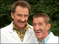 The Chuckle Brothers (Paul and Barry Elliot)